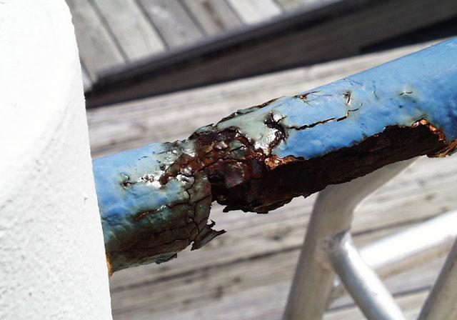 NASAS Corroded Handrail